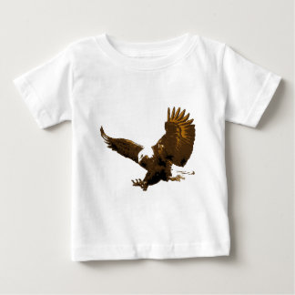 Aterrizaje de Eagle calvo T Shirts
