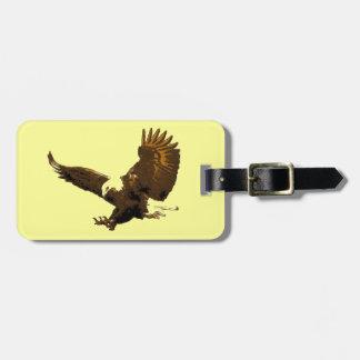 Aterrizaje de Eagle Etiqueta De Equipaje