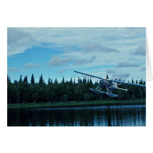 Aterrizaje de Floatplane Tarjeta
