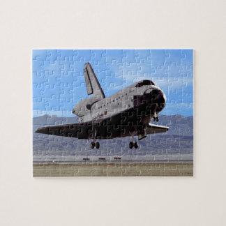 Aterrizaje de la Atlántida de la lanzadera en Puzzle