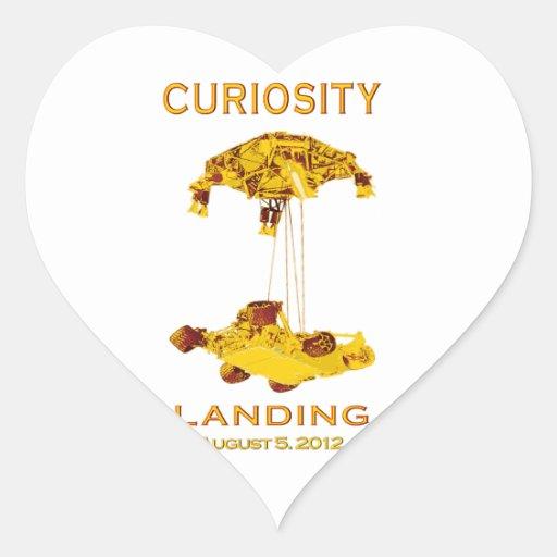 Aterrizaje de la curiosidad - 5 de agosto de 2012 colcomanias corazon personalizadas