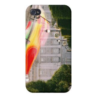 Aterrizaje de la luna de miel de Fameland iPhone 4 Funda