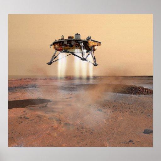 Aterrizaje de la punta de prueba de Phoenix Marte Impresiones