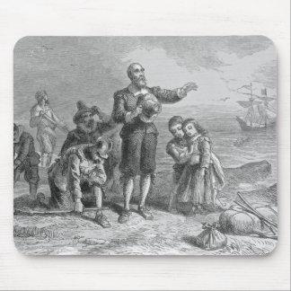 Aterrizaje de los peregrinos, 1620 tapete de ratones