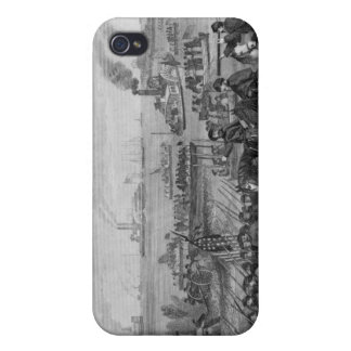 Aterrizaje de tropas en la isla de Roanoke iPhone 4/4S Carcasas