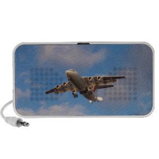 Aterrizaje del jet de Avro RJ85 iPod Altavoz