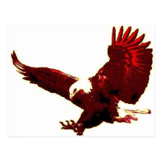 Aterrizaje Eagle - Eagle en vuelo Postal