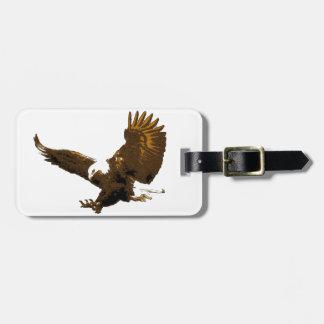 Aterrizaje Eagle Etiquetas Para Equipaje