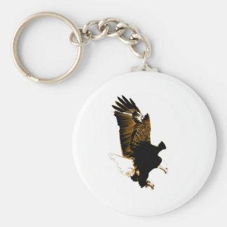 Aterrizaje Eagle Llavero Redondo Tipo Pin