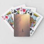 Aterrizaje polvoriento en la colonia de Marte Baraja Cartas De Poker