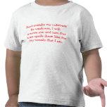 Aterrorice la camiseta