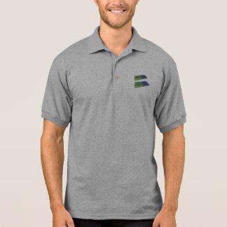 Ates as At Astatine and Es Einsteinium Polo T-shirts