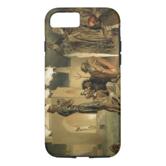Ateseh-Gah, Indians Devoted to the Cult of Fire, B iPhone 7 Case