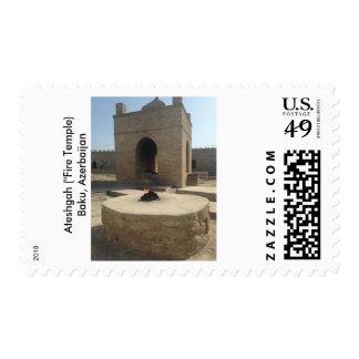 Ateshgah (fuego Tempe) - Baku, Azerbajan Sellos