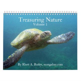 Atesorando la naturaleza - vol 1 calendarios de pared