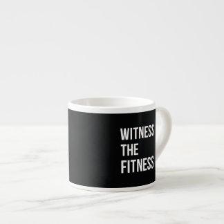 Atestigüe el blanco del negro de la cita del taza espresso