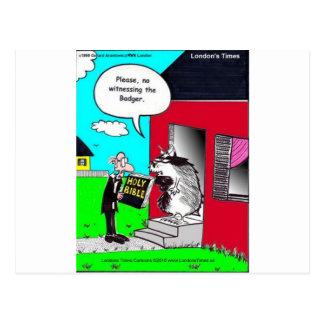 Atestigüe las camisetas y los regalos divertidos d tarjetas postales