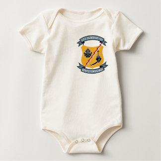 ATF-161 USS Salinan Military Patch Tug Insignia Baby Bodysuit