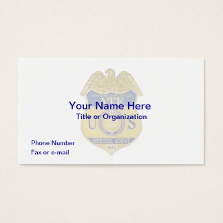 ATF Badge Business Card