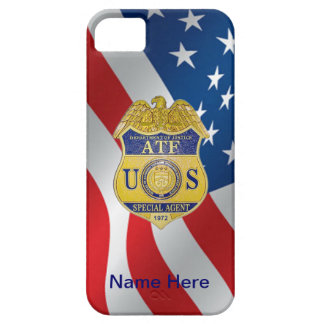 ATF Badge iPhone 5 Cases