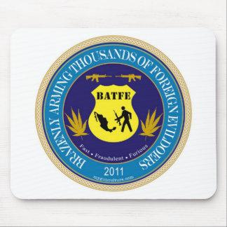 ATF / BATFE Spoof Logo Mouse Pad