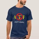 ATF - No fumo la camiseta