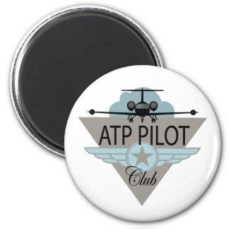 ATF Pilot Club 2 Inch Round Magnet