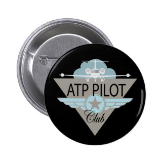 ATF Pilot Club 2 Inch Round Button