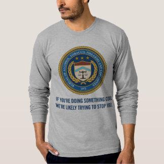 ATF que hace algo camisa fresca