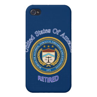 ATF Retired s iPhone 4 Cases