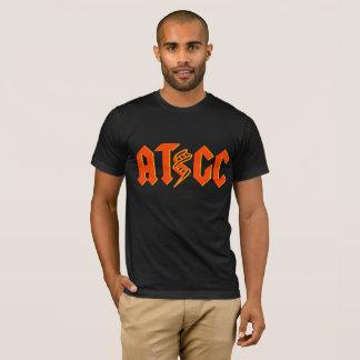 ATGC DNA Shirt - Orange/Red