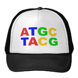 ATGC nucleus bases of nucleobases Mesh Hat