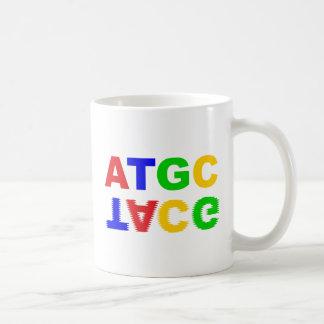 ATGC nucleus bases of nucleobases Mug