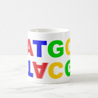 ATGC nucleus bases of nucleobases Mugs