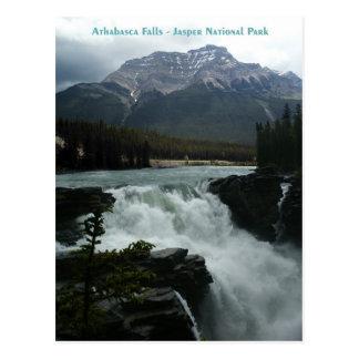 Athabasca baja parque nacional de jaspe tarjetas postales