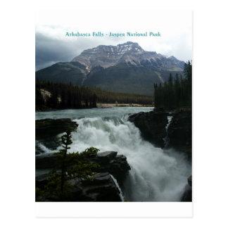 Athabasca baja parque nacional de jaspe postales