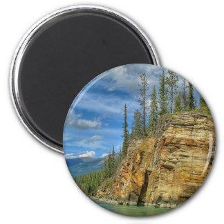 Athabasca Falls I Fridge Magnet