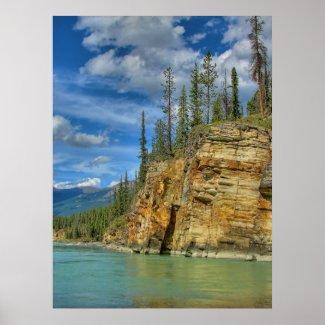 Athabasca Falls I print
