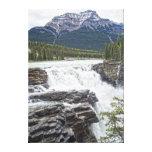 Athabasca Falls Jasper, Alberta Canada Photo Canvas Prints
