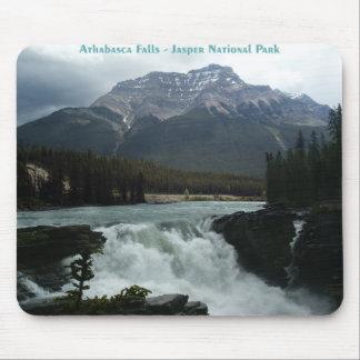 Athabasca Falls Jasper National Park Mouse Pad