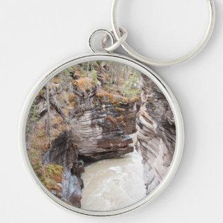 Athabasca Falls Keychain