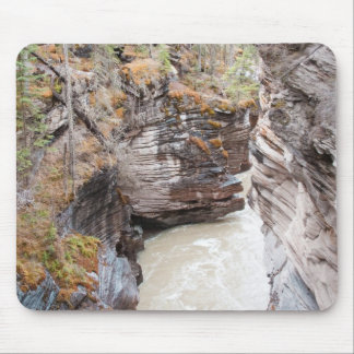 Athabasca Falls Mouse Pad