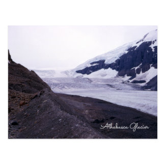 Athabasca Glacier Columbia Icefield Alberta Canada Postcard