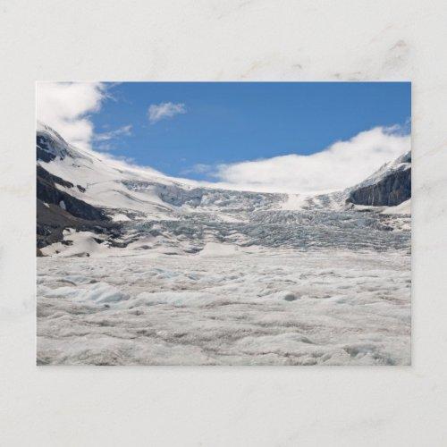 Athabasca Glacier Postcard postcard