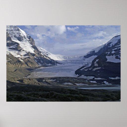 Athabasca Glacier Poster