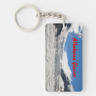 Athabasca Glacier Rectangular Key Chain