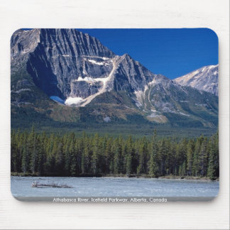 Athabasca River, Icefield Parkway, Alberta, Canada Mouse Pad