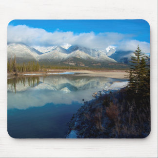 Athabasca River, Jasper National Park, Alberta Mouse Pad