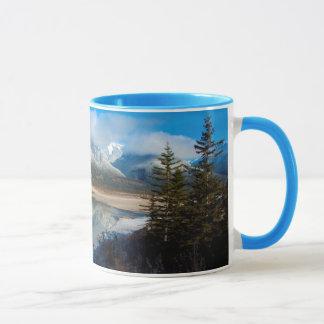 Athabasca River, Jasper National Park, Alberta Mug