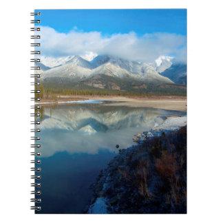 Athabasca River, Jasper National Park, Alberta Notebook